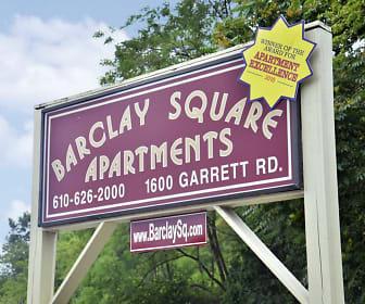 Community Signage, Barclay Square