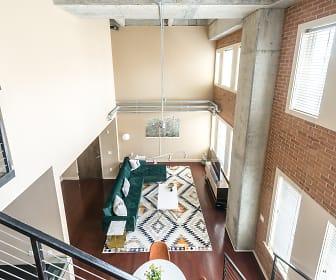 Living Room, The Lofts at Atlantic Station