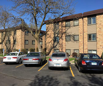 Moore Lake Apartments, Oak Hills, Fridley, MN