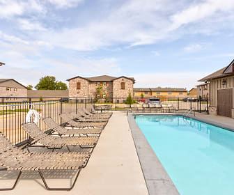 Pool, The Frisco Apartments
