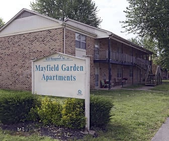 Community Signage, Mayfield Garden Apartments
