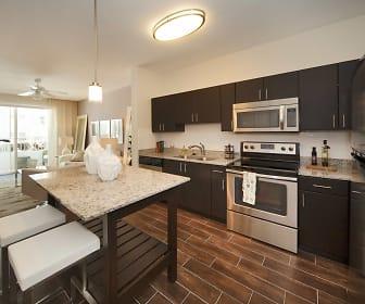 Kitchen, Milagro Coral Gables
