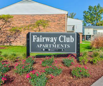 Fairway Club Apartments, Romulus, MI
