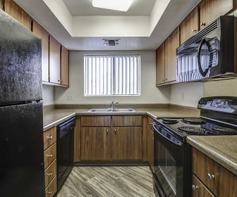 Kitchen, Dana Park Apartments