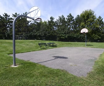 Basketball Court, Riverbend Apartments