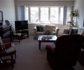 Living Room, Clifton Estates Apartments