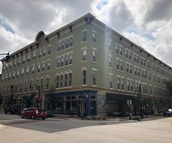 Lahr Apartments, Downtown Lafayette, Lafayette, IN