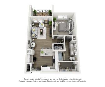 Veere Apartments Virch Floorplan, Veere Apartments