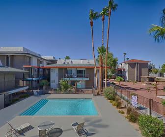Pool, Townhome Villas