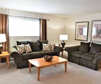 Living Room, Norris Hills Apartments