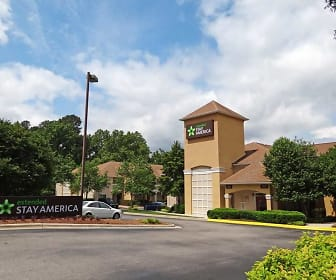 Building, Furnished Studio - Raleigh - North Raleigh - Wake Forest Road