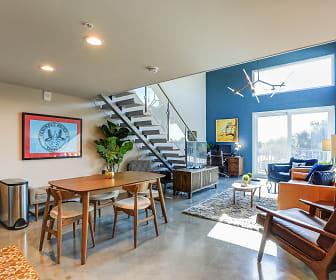 Living Room, Avenue Lofts