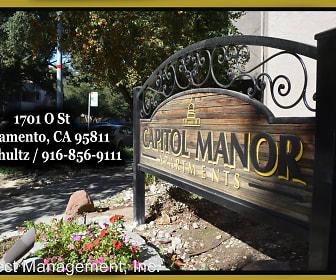 Community Signage, Capitol Manor