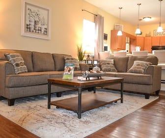 Living Room, Oak Manor Villas- Big Spring