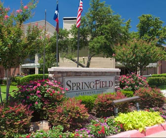 Community Signage, Springfield Apartments