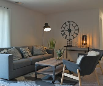 Living Room, Millcroft Apartments & Townhomes