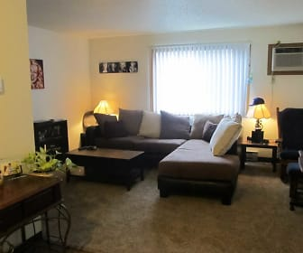 Living Room, Montego Apartments