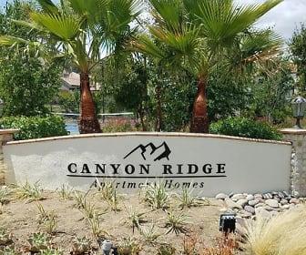 Community Signage, Canyon Ridge