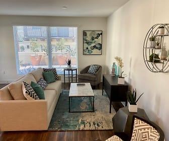 Living Room, Parklands Apartments