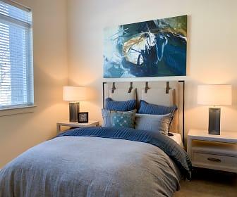Bedroom, Town Park Lofts