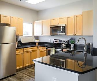 Kitchen, The Ridge Apartments