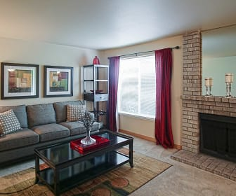 Living Room, Waterstone at Silver Creek