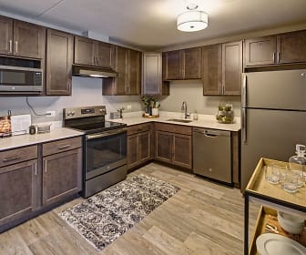Kitchen, Willow Crossing Apartments