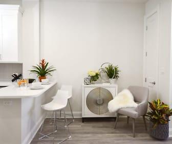 Dining Room, 35 Broadway Luxury Rentals