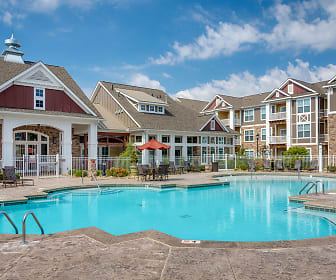 Pool, Pavilion Village Apartments