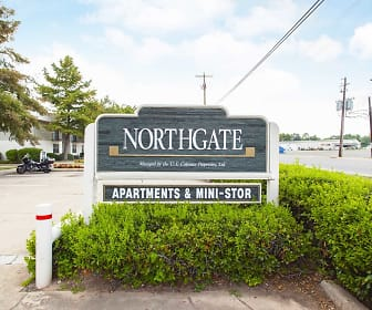 Northgate Square, Bossier Parish Community College, LA