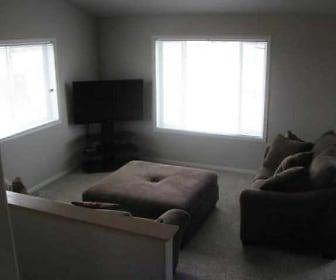 Living Room, Woodside Townhomes