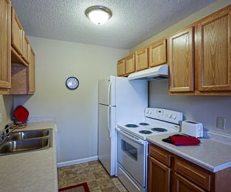 Kitchen, Oak Valley Apartments