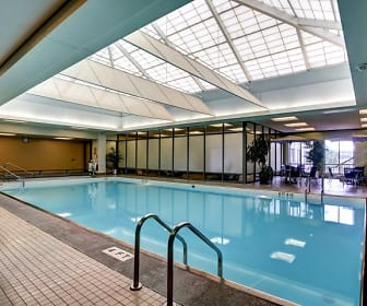 Pool, Plaza Towers Apartments