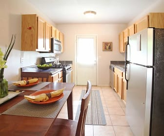 Kitchen, Waters Mark Apartments