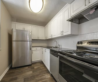 Kitchen, Biscayne Apartments