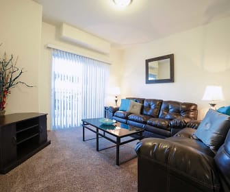 Living Room, Copperwood Apartments