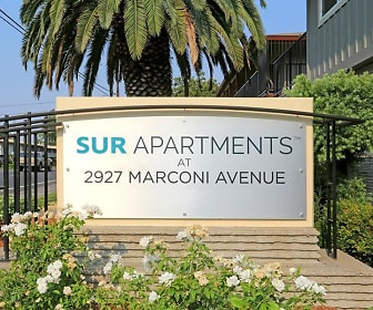 Community Signage, Sur Apartments