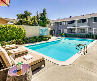 Baywind Apartments, St John The Baptist Catholic School, Costa Mesa, CA