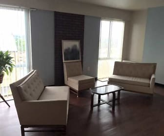 Living Room, Chapel View Apartments