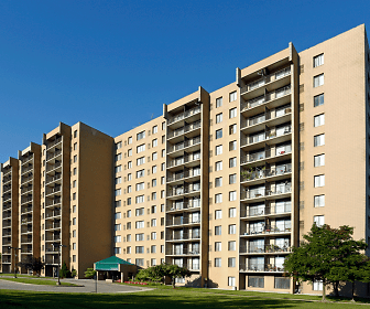 Highland Towers Senior Apartments, Thompson K 8 International Baccalaureate Academy School, Southfield, MI