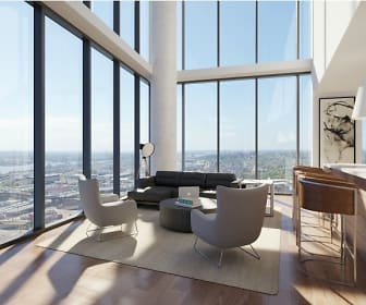 Floor-to-Ceiling Windows, One Cardinal Way