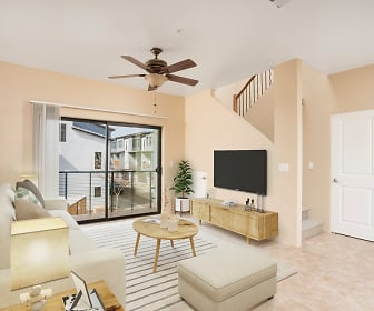 Living Room, Dolce Villagio Lofts