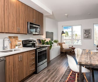 Kitchen, Hawthorne Apartments