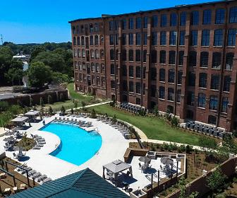 Pool, Loray Mill Lofts Apartments