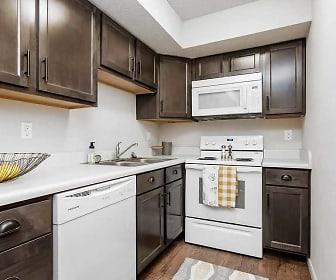 Kitchen, Stadium Apartments