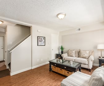 Living Room, Skyview Townhomes