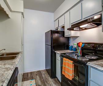 Kitchen, Desert Wind Apartments