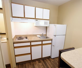 Kitchen, Furnished Studio - Austin - Arboretum - South