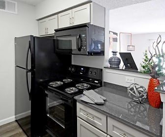 Kitchen, The Ranch At Midland Apartments