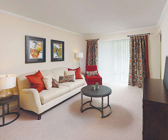 Living Room, The Apartments at The Sycamores